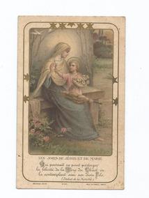 Cartão França,religiosidade 1934,usado.ver Descrição.