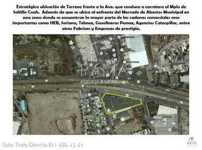 Terreno Comercial E Industrial En Renta En Santa Catarina N.l. $250,000 Mx