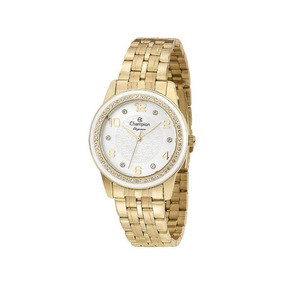Relógio Champion Feminino Dourado Cn25761h