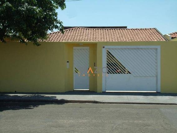 Casa Residencial À Venda, Jardim América, Rio Claro. - Ca0135