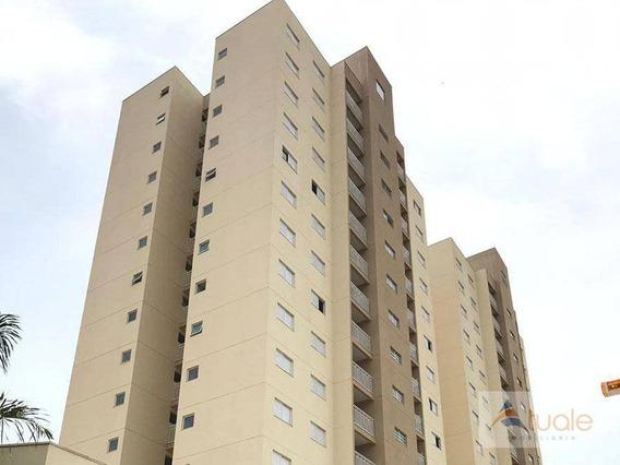 Apartamento Com 2 Dormitórios À Venda, 61 M² Por R$ 220.000 - Núcleo Santa Isabel - Hortolândia/sp - Ap5930