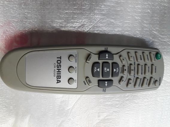 Controle Remoto Som Toshiba Cr4220/cr4200/cr4280 Novo!!!