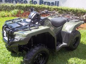 Quadriciclo Honda Fourtrax 2016 4x4 Faço Entrega