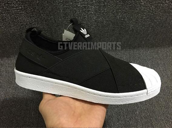 Tênis adidas Slip On Superstar 12x Sem Juros - Frete Grátis