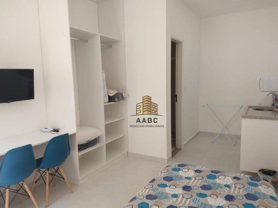 Kitnet Com 1 Dormitório Para Alugar, 18 M² Por R$ 1.300,00/mês - Vila Clementino - São Paulo/sp - Kn0002