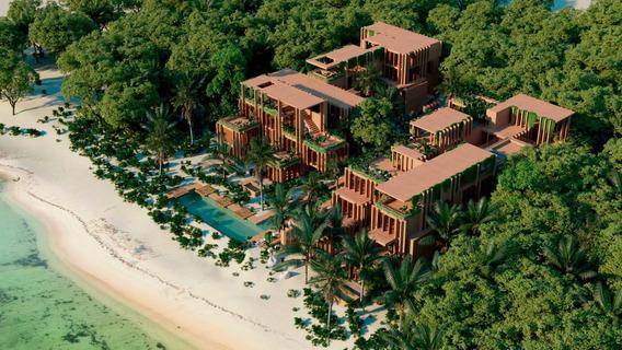 Villa De Lujo Frente Al Mar Tankah Tulum