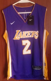 Camiseta Nba Nike Lakers Lonzo Ball