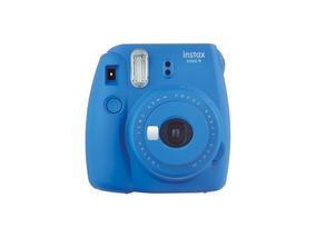 Câmera Instantânea Fuji Instax Mini 9 Azul Cobalto