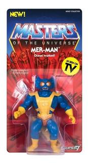 Super 7 Masters Of The Universe Vintage Mer - Man