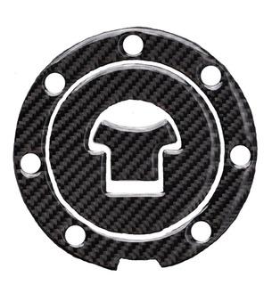 Protector De Tapon Gasolina Honda Cbr600/1000 Fibra Carbono