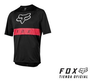 Remera Fox Defend Ss Moth Mtb Bmx #22985-001 -tienda Oficial
