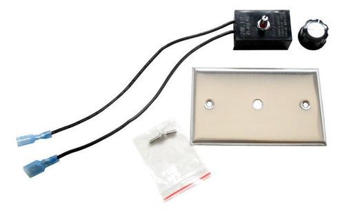 Ventilador Chimenea Ventilador De Chimenea Kit Para Control