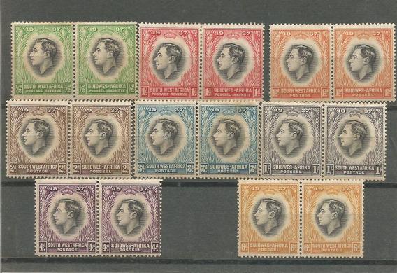 8x2 Selos Africa Se (atual Namíbia) - Série Coroação 1937