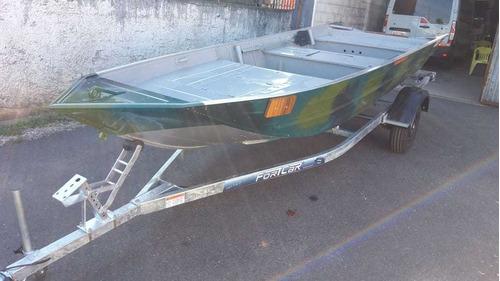 Barco 5m Boca 1.50 Com Plataforma E Carreta