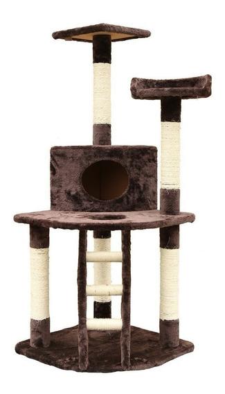 Arranhador Para Gatos Grande Casinha E Cama