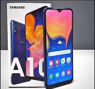 Samsung Galaxy A10 32gb 4g Tela Infinita 6.2 13mp + 5mp