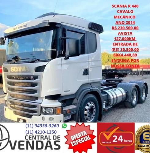 Scania R 440 Cavalo Ano 2014
