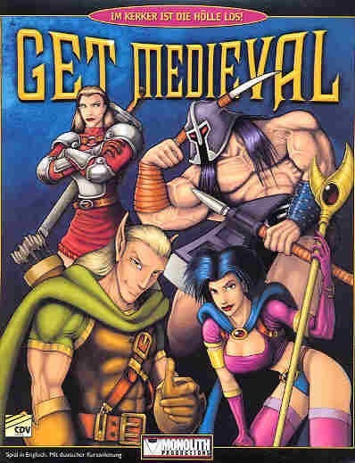 Game In Box--cd Expert--jogo Completo--get Medieval.
