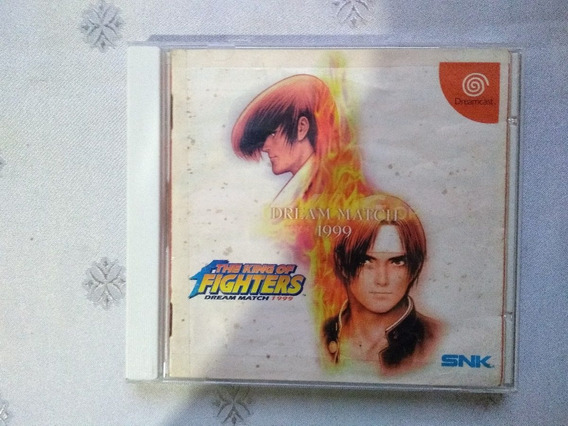 Jogo - The King Of Fighters Dream Match 1999 - Dreamcast