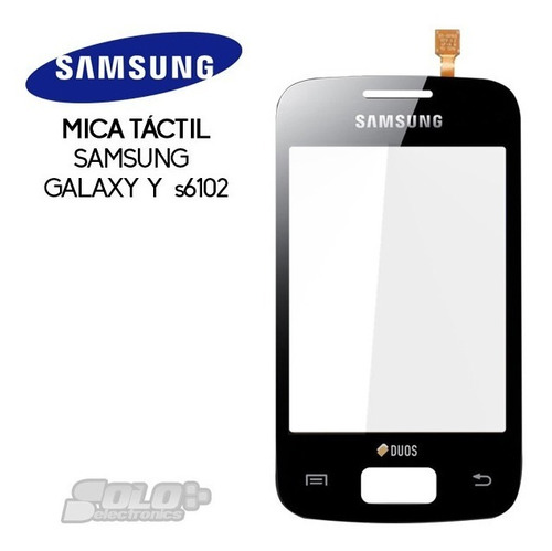 Tactil Mica Touch Digitizer Samsung Galaxy Young Gt  S6102