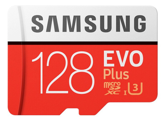 Samsung Evo Plus Cartão Microsd 128 Gb 100mb/s Class10 U3 U1