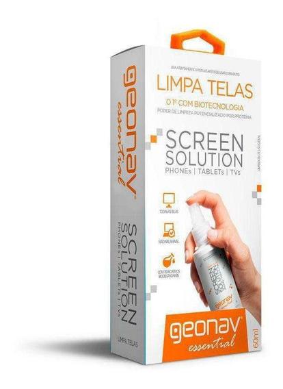 Limpa Telas Screen Solution 60 Ml Geonav