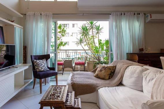 Apartamento Duplex Com 1 Dormitório À Venda, 73 M² Por R$ 1.169.000 - Vila Nova Conceição - São Paulo/sp - Ad0171