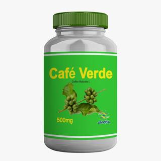 120 Potes Café Verde -60 Capsulas -500mg - 100% Pura