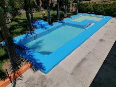 Alberca Mas Chapoteadero Terraza Jardin Amplio Asador