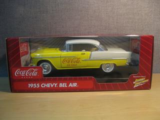 Mini Chevrolet Chevy Bel Air 1955 Coca Cola 1:18 Raridade