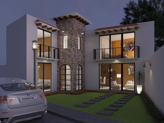 Casa Nuevas Estilo Toscano Contemporaneo O Modernista