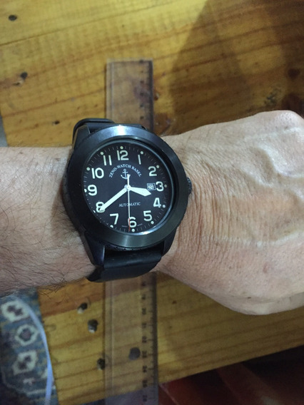 Relógio Automático - Zeno Jumbo Black Com Frete Grátis!!