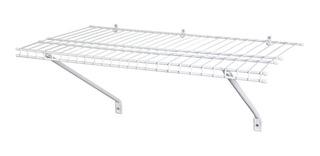 Repisa Para Armario Closet Recamara Acero Resistente Cl 61cm