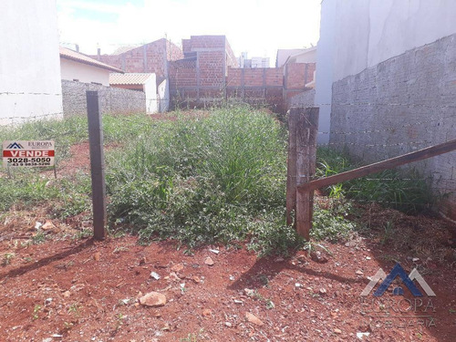Terreno À Venda, 250 M² Por R$ 170.000,00 - Residencial Portal Do Sol - Londrina/pr - Te0506
