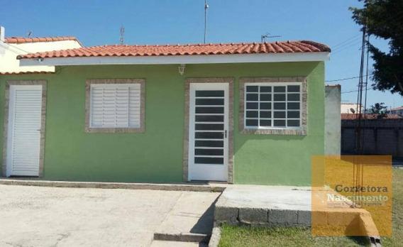 Casa Com 2 Dormitórios Para Alugar, 60 M² Por R$ 830/mês - Jardim Paraíso - Jacareí/sp - Ca1481