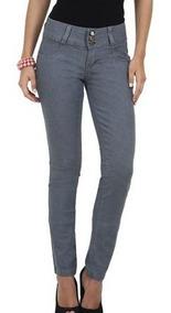 Calça Jeans Feminina Cinza Skinny Ref.c33! Mega Oferta
