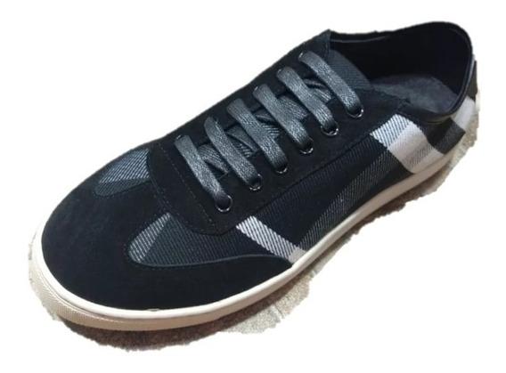 Tenis Sneakers Burberry Black Envio Sin Costo