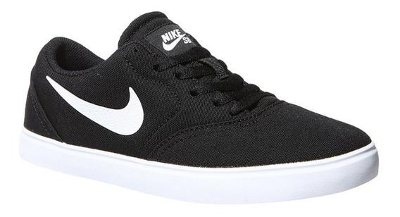 Zapatillas Nike Sb Check Canvas (gs) Niño 905373-001 Negro