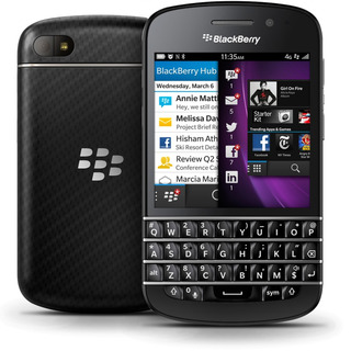 Blackberry Q10 - 4g, Desbloqueado,wi-fi 16 Gb, 8mp - Novo