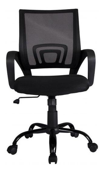 Cadeira Para Escritório Com Base Preta Akordar Frete Grátis