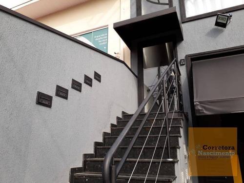 Imagem 1 de 14 de Sa0186- Sala Mobiliada Em Ótima Localização No Villa Branca - Sa0186