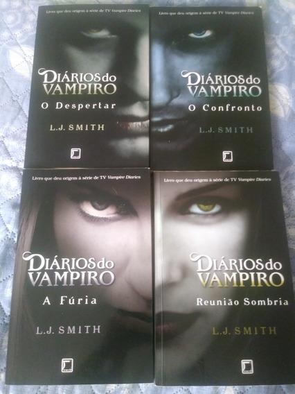 Livros Diários Do Vampiro (4 Livros)