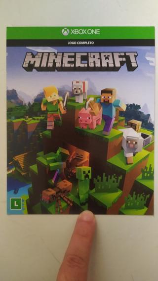 Jogo Minecraft Xbox One - 25 Dígitos (mídia Digital)