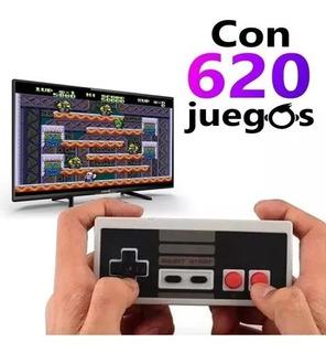 Mini Consola Retro Nitendo Video Juegos Cl¿sica 620