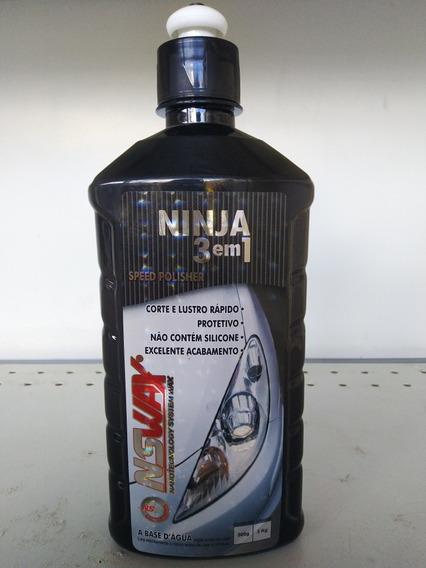 Ninja 3x1 - Nswax - 500ml (composto Polidor)