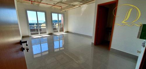 Imagem 1 de 30 de Sala Comercial De 40m²  Com Varanda No Boqueirão, Alto Padrão, Pagamento Facilitado!!! - Sa0007