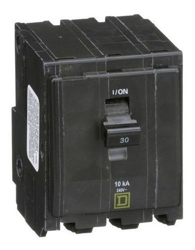 Imagen 1 de 8 de Pastilla Interruptor Termomagnético Qo330 3polo30a Schneider
