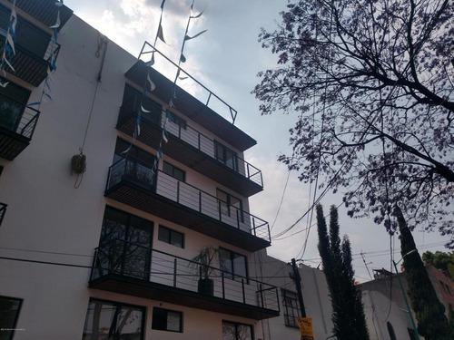 Departamento En Venta En Popotla, Miguel Hidalgo, Rah-mx-20-1334