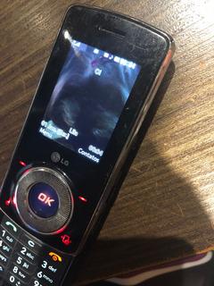 Lindo Celular Desbloqueado LG Km710c Km 710 C
