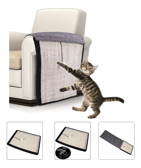 Alfombrilla Con Rascador Para Gatos